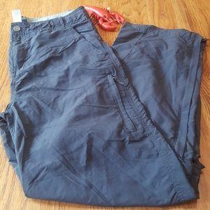 REI Grey Convertible Pants Boys XL